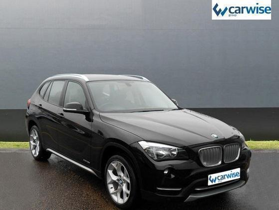 BMW X XDRIVED XLINE Diesel Black Manual In Harlow Essex - Black bmw x1