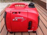 Honda generator ex 700 suitcase generator
