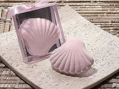 Pink Sea Shell Scented Bath Fizzer Bridal Shower Wedding Favor