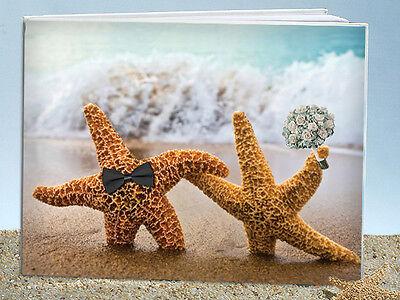 Designer Wedding Guest Book Pen (Perfect Pair Beach Wedding Guest Book and Pen Beach Theme Starfish)