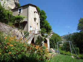 South of France : house with garden near riverfor 4 people, wifi,