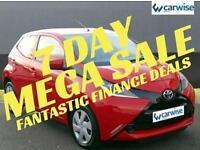 2016 Toyota Aygo VVT-I X-PLAY Petrol red Manual