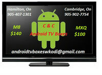ANDROID TV BOXES!! $100 MXQ - $140 M8 - GET YOURS TODAY!!
