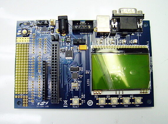 Silicon Labs MSC-DBSB8 Software Development Board