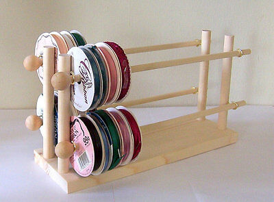 Ribbon Spool Holder Storage Wire Rack Organizer Holds 75 Spools