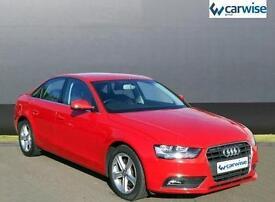 2013 Audi A4 TFSI SE S/S Petrol red Manual