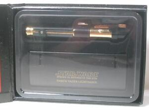 STAR WARS DARTH VADER MINI LIGHTSABER .45 GOLD CHASE EP3 Master Replicas