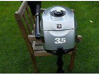 3.5hp Mariner 4stroke outboard.