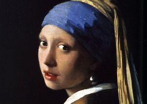Girl with a Pearl Earring by Vermeer, Professionally Framed Peterborough Peterborough Area image 2