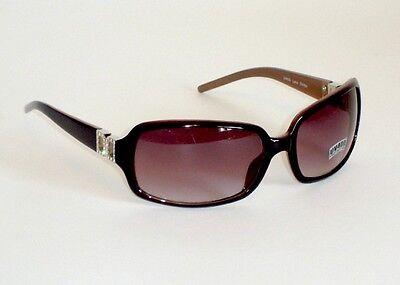 Women's Fashion Sunglasses Brown Coral Frame Amber Lens - Brown Frame Amber Lenses