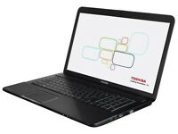 Toshiba Satellite Pro L50 - INTEL CORE i3 2.40ghz - Windows 7 - 8GB Ram - 500GB Storage