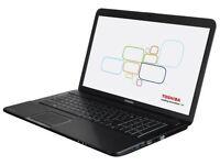 Toshiba Satellite Pro L50 - INTEL CORE i3 2.40ghz - Windows 7 - 8GB Ram - 500GB Storage