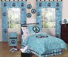 Peace Sign Bedding Queen