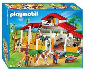Playmobil farm ebay for Casa playmobil 123
