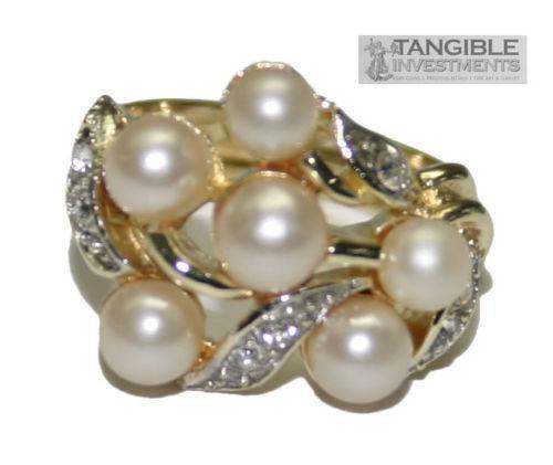 Avon Pearl Ring Ebay
