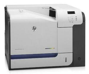 9.9/10 Condition - HP Color LaserJet Enterprise CP4525dn Printer
