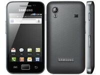 Samsung Galaxy Ace Black/white Unlocked Smartphone Android 3g Wifi