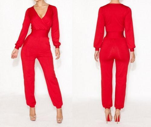 Red Jumpsuit | eBay