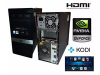 Customized medium gamer PC with kodi media centre