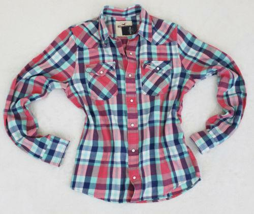 Abercrombie Hollister Womens Down Vest Abercrombie Hollister Mens Long Tees Abercrombie Hollister Mens Down Vest: Hollister Mens Plaid Flannel Shirt