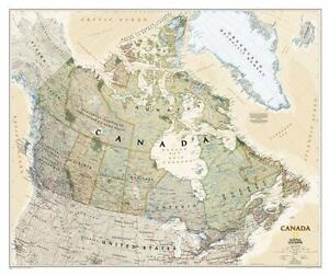 Buy Map Of Canada.National Geographic Reference Map Canada Executive Laminated By National Geographic Maps Reference 2017 Map Other