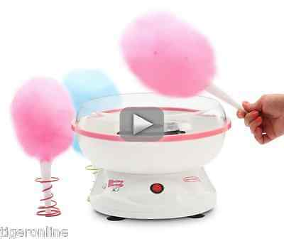 Electrics Machine Cotton Candy Maker Commercial Kids Party Hard Sugar Pink New