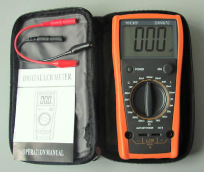 Vici Dm4070-lcr-meter-multimeter-inductance-capacitance-ohm Us Seller