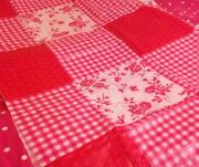 Wipe Clean Tablecloth Pink