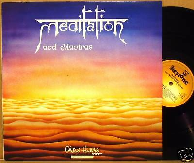 LP Chris Hinze Meditation and Mantras Keytone 1986 NM