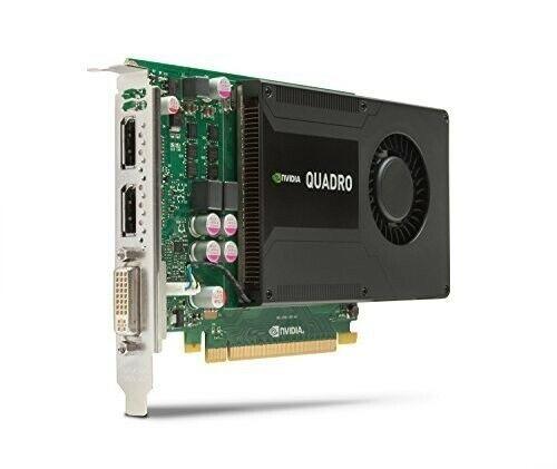 HP NVIDIA Quadro K2000 (2048 MB) Grafikkarte