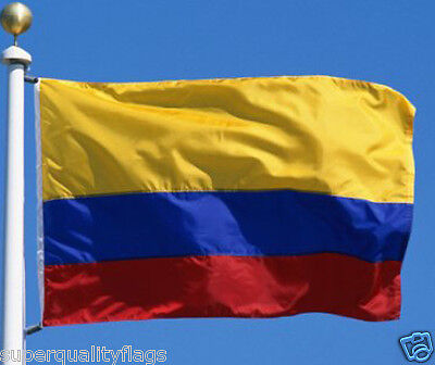 Colombia Colombian Flag 3X5 ft new with brass grommets USA seller