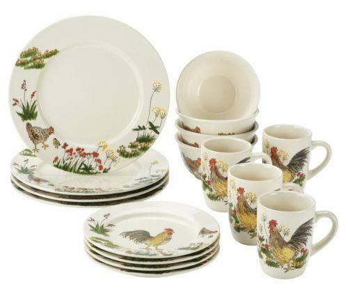 Typically, a dinnerware set includes dinner plates, salad plates, side plates and bowls, with enough pieces to fill numerous place settings. Cups and saucers are usually included too, and some sets have additional items, such as a serving platter.