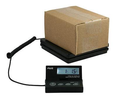 Aws 110 Lb X 0.1 Oz Digital Postal Scale Shipping Platform Weight Usps Fedex Ups