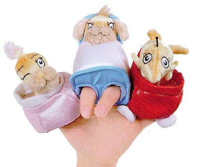 Dr Seuss Spielzeug (Dr.Seuss Set 3 Eins Fisch Zwei Pop Up Finger Puppets von Manhattan Spielzeug)