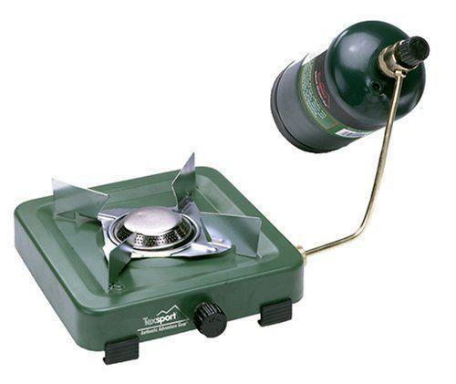 3 Burner Camp Stoves: Single Burner Propane Camp Stove