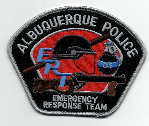 NEW MEXICO NM ALBUQUERQUE POLICE EMERGENCY RESPONSE TEAM NICE PATCH SHERIFF