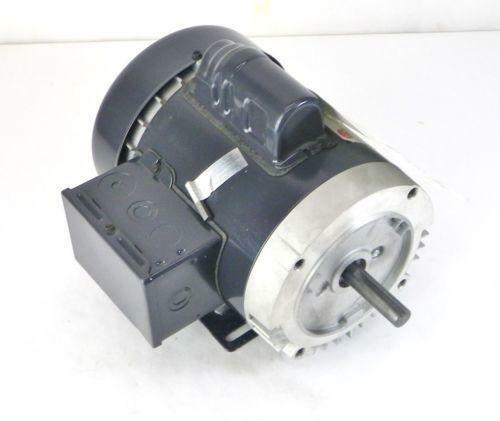 1 1 2 hp electric motor single phase ebay for One horsepower electric motor