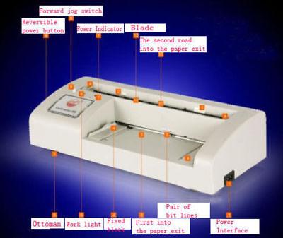 Automatic Business Card Cutter Binding Machine Electric Cutter 9054mm 220v