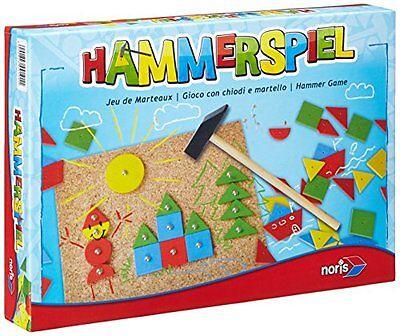 Noris Spiele Hammerspiel Geschicklichkeitsspiel Kinder Brettspiele Spielzeug NEU