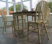 Oak Wheelback Chairs