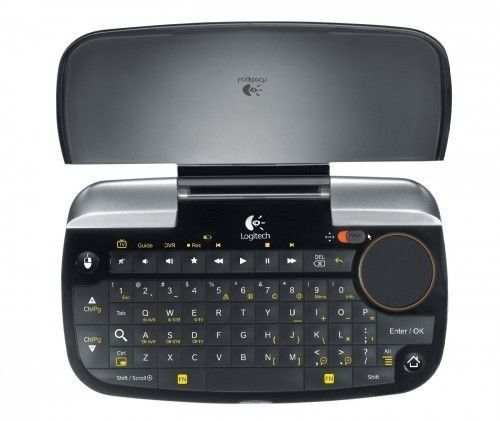 Logitech Dinovo Mini Remote Control Keyboard For Chrome Y...