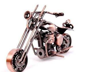 Metal Motorcycle Art