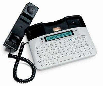 Ultratec Uniphone 1140: All-in-One TTY, VCO, HCO Amplified Phone