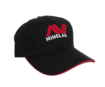 MINELAB LOGO NAVY BLUE EMBROIDERED BALL CAP **NEW**