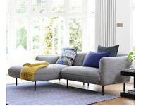 Dwell Valettta 3.5 seater chaise end sofa