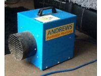 Andrews portable heating