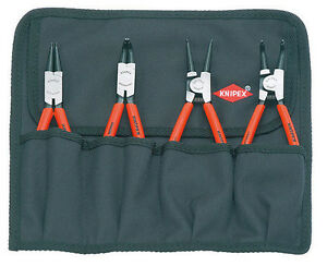 Knipex 00 19 56 Circlip Pliers Set, 4 parts (001956)