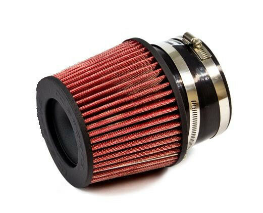 RED Universal Inlet Air Intake Cone Open Top Dry Replacement Filter For FORD