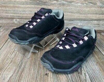 Kuru Chicane Womens Athletic Walking Plantar Fasciitis Shoes Suede Sz 6.5 VGC!