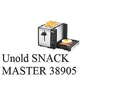 Unold Toaster, SNACK MASTER 38905